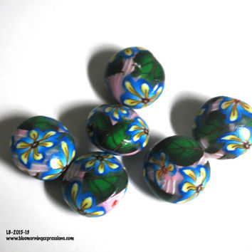 Polymer Clay Beads, Polymer Beads, Beads for Sale, Loose Beads, Clay Beads, Handmade Beads, Fimo Beads, Beading Supply, DIY Jewelry