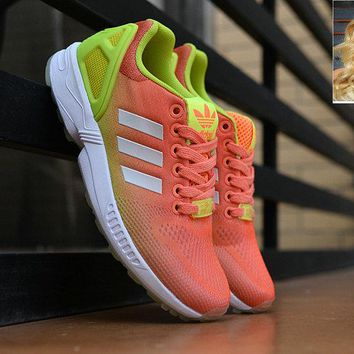 Official adidas ZX Flux Total Crimson sneaker