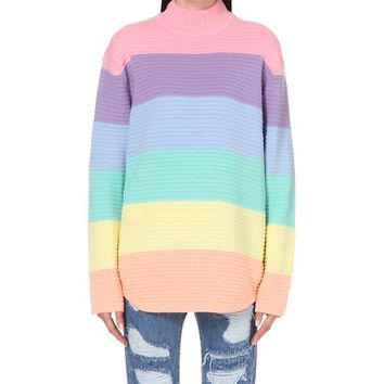UNIF - Frost striped jumper | Selfridges.com