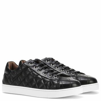 Low Driver leather sneakers
