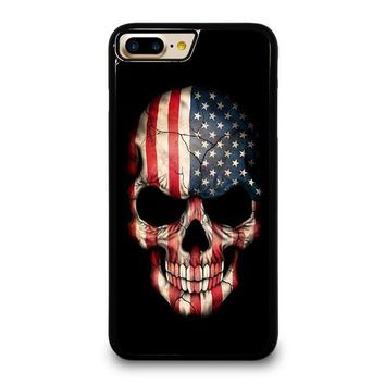 AMERICAN FLAG SKULL iPhone 7 Plus Case Cover