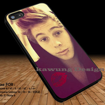 Luke Hemmings Piercing iPhone 6s 6 6s+ 5c 5s Cases Samsung Galaxy s5 s6 Edge+ NOTE 5 4 3 #music #5sos DOP2165