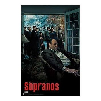 "THE SOPRANOS - SEASON 6 CAST - NEW POSTER(Size 24""x36"")"