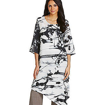 Bryn Walker Naida Tunic - Black/White