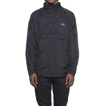 HUF - ADAPT PACKABLE ANORAK // BLACK
