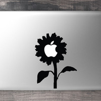 Sun Flower MacBook Decal