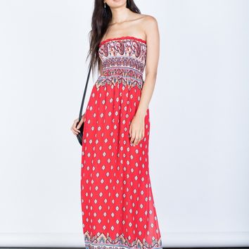 Sophia Paisley Dress
