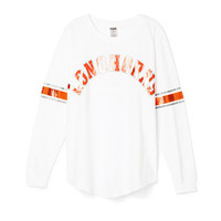 University of Texas Limited Edition Varsity Crew - PINK - Victoria's Secret