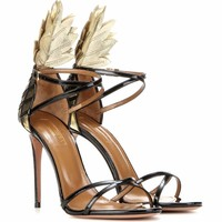 Pina Colada 105 patent leather sandals