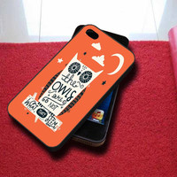 Twin Peaks Owl iPhone 5/5S/5C/4/4S, Samsung Galaxy S3/S4/S5, iPod Touch 4/5, htc One X/x+/S