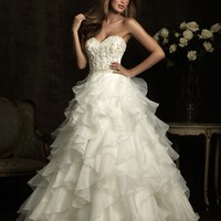Allure Bridals 8911 Ruffled Wedding Dress