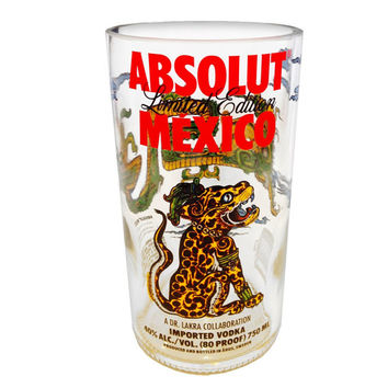 Absolut MEXICO Vodka Tumbler- Limited Edition