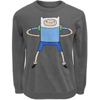 DCCK8UT Adventure Time Finn Sweater