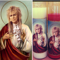 Jareth, the Goblin King Candle