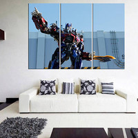 megatron transformers wall art, transformers canvas print, large canvaswall art print, movie wall art, megatron decal for bedroom 11m39