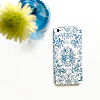Boho iPhone 6 Case, Boho Style Indigo iPhone 5S Case, iPhone 5C Case, iPhone 6S Case - iPhone Cases, Bohemian iPhone 6 Plus Case