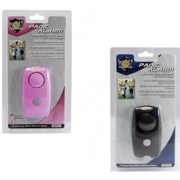 His & Hers Streetwise Panic Alarms Black & Pink