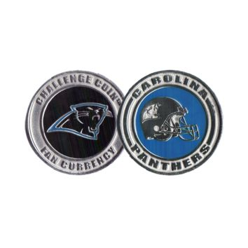 Challenge Coin Card Guard - Carolina Panthers