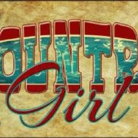 Country Girl Truck Plate Tag
