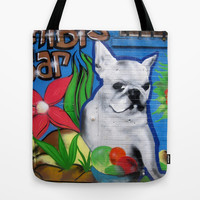 French Doggie Tote Bag by Deadly Designer
