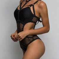 New Net Mesh Sexy Sheer Suit in Sizes Up to 4XL
