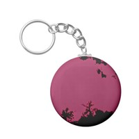 Rose Nature Keychain
