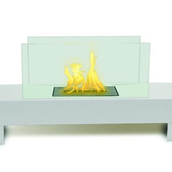 Gramercy Indoor Outdoor Bio-Ethanol Fireplace - Home Decor | Anywhere Fireplace