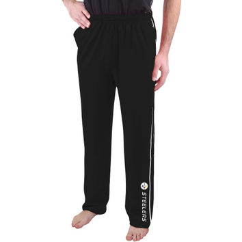 Pittsburgh Steelers Majestic Classic Synthetic IV Pants – Black