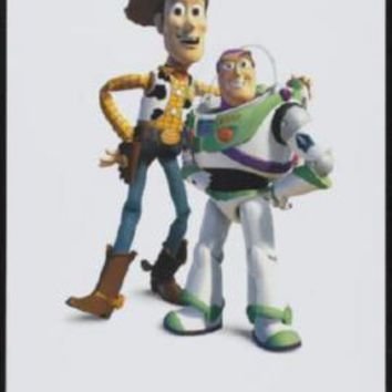 Toy Story Pixar Movie poster Metal Sign Wall Art 8in x 12in