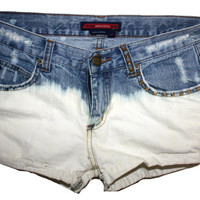 Bleached Shorts Size 3