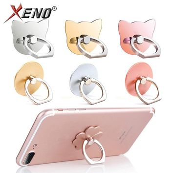 Phone Finger Ring pop Mobile Smartphone Stand Holder For iphone X 8 7 redmi 4x  mi a1 note 4x 5t mi6 4a mi5 honor 9 Lucky Clover