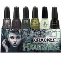 China Glaze Haunting Collection 18 Piece Counter Display