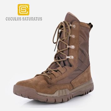 Cuculus fashion outdoor climbing hiking boots waterproof men boot new style outdoor mountain trekking shoes hunting boots ZD144L