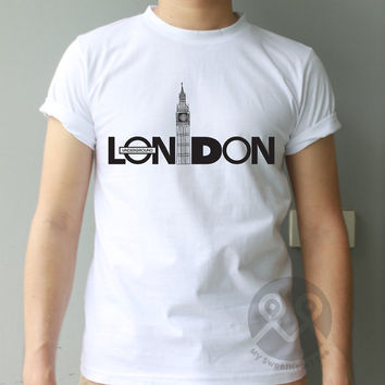 London Underground hipster t-shirt graphic tumblr tee unisex t shirt cool quote