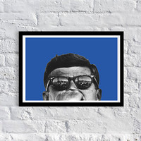 Art / Gift Ideas /John F. Kennedy / JFK / Art /Ray Bans / Hipster / Art Print / poster / dorm decor / apartment / home decor / gift ideas