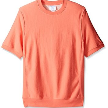 Champion LIFE Men's Reverse Weave French Terry Short Sleeve Crew