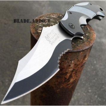 MTECH EXTREME BALLISTIC ARMY Tactical Military Spring Assisted Pocket Knife BLUE