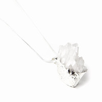 Tallulah Quartz Cluster Necklace