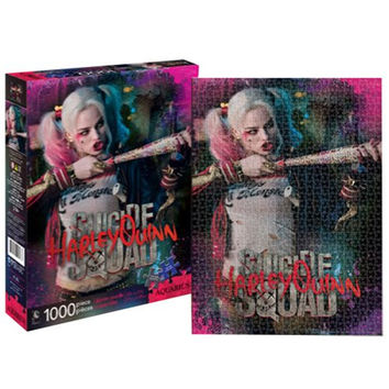 Suicide Squad Harley Quinn 1,000-Piece Puzzle