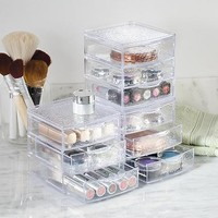 InterDesign Rain 3-Drawer Box, Clear - Walmart.com