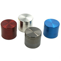 Multi-color 4 Layers Metal Hand Muller Herb Spice Tobacco Grinder Crusher VNC