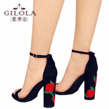 Fashion High Heels Hollow Open Toe Women Pumps Women Shoes Cut Outs Shoes Spring Summer Stiletto Flowers Shoes Woman #Y0613720Q