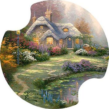 Thirstystone Everetts Cottage Car Cup Holder Coaster 2Pack
