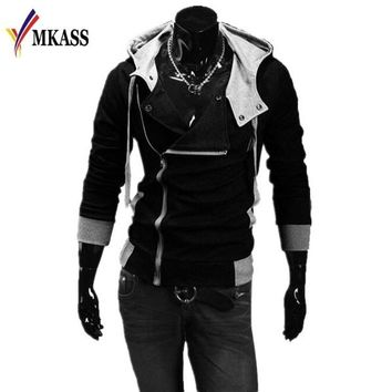 Hoodies Men Sweatshirt Male Tracksuit Hooded Jacket Casual Male Hooded Jackets Moleton Assassins Creed Size Plus 6XL