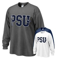 Penn State Big PSU Long Sleeve T-shirt | Tshirts > ADULT > LONG SLEEVE