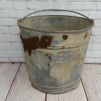 Best rustic buckets products on wanelo for Rustic galvanized buckets