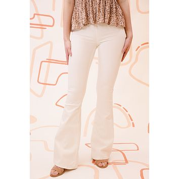 Penny Pull On Flare Pant, Ivory | Free People