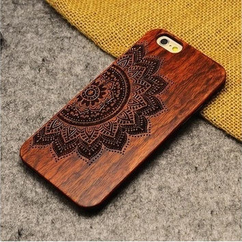 wood iphone 6/ 6 plus case personalized iphone cover originality case for iphone 5/5s [8045407879]