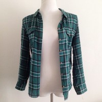Sammie Green Flannel