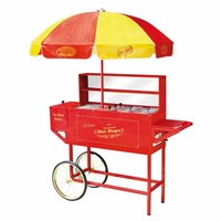 Vintage Collection Carnival Hot Dog Cart and Umbrella—Buy Now!